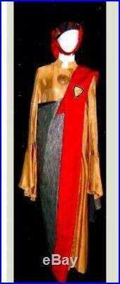 Star Trek Vulcan Robes And Hat Feature Film Screen Used Costume Female COA