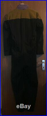 Star Trek original Geordi La Forge uniform LEVAR BURTON prop Generations COA
