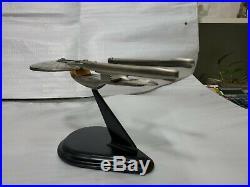 Star Trek ship Excelsior Pewter in original box