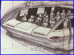 Star Trek the Experience Original Concept Art Landmark Entertainment Group