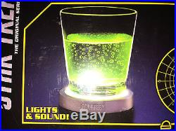 Star trek original series transporter pad led 4 coasters with lights and sounds