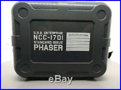 The Wand Company Original series Star Trek Phaser Remote control Prop Replica