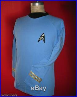 Uniform STAR TREK original Serie blau Replica ovp L
