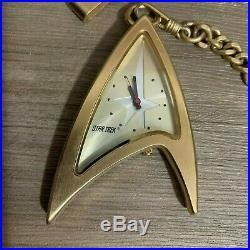 VHTF Star Trek Original No 2 Pocket Watch Fossil Limited Edition (1 of 10000)