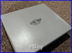 Very Rare Boxed Original Franklin Mint Star Trek 3D Tri-dimentional Chess Set