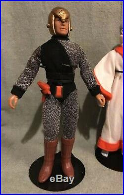 Vintage 1976 Mego 8 Action Figure Romulan Star Trek Original & Complete