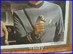 Vintage Star Trek Collage 1976 original Poster 1903