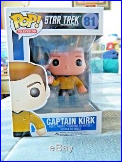 William Shatner Signed Captain Kirk Funko Pop Star Trek PSA/DNA AB29170